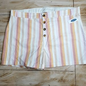 Old Navy Striped Shorts NWT